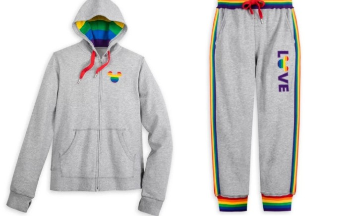 disney rainbow pride collection