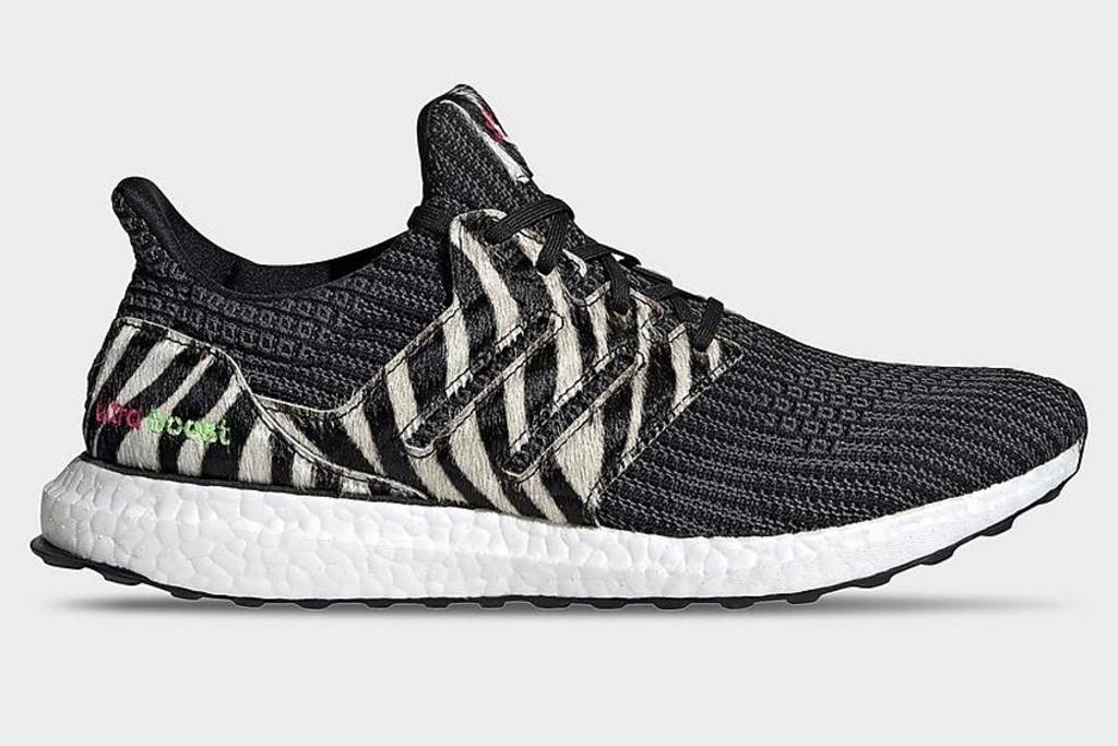 Adidas Ultraboost DNA Zebra Shoe, zebra print shoes