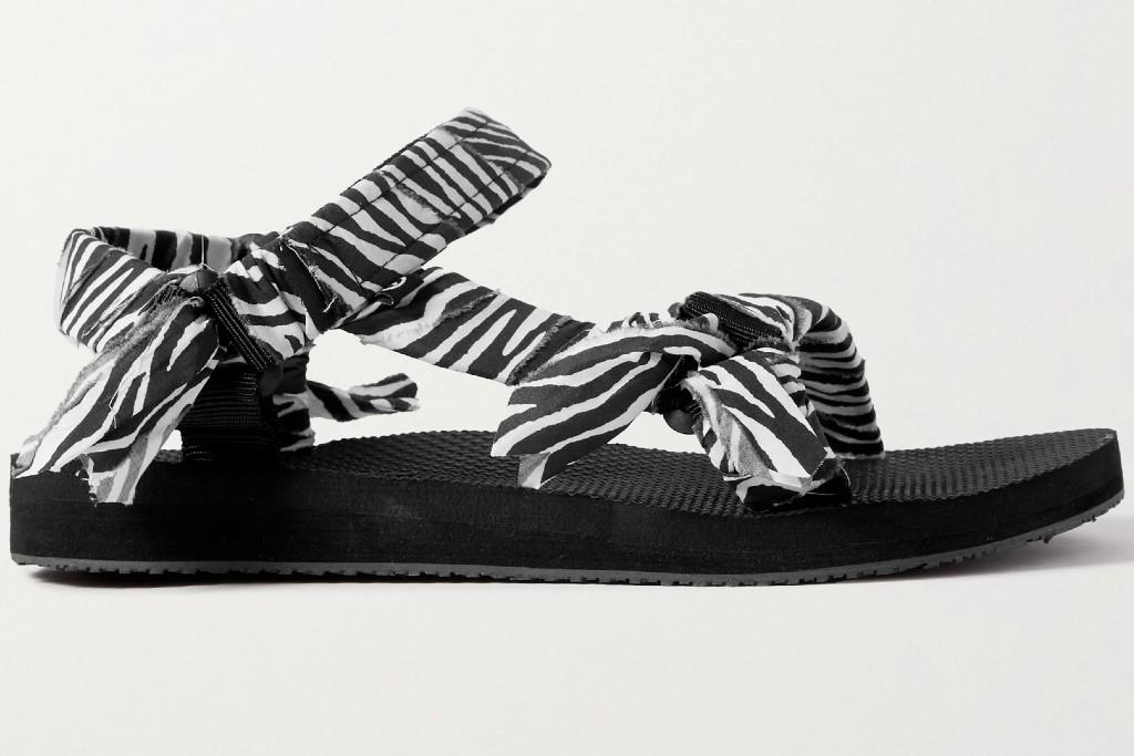 zebra print shoes, arizona love