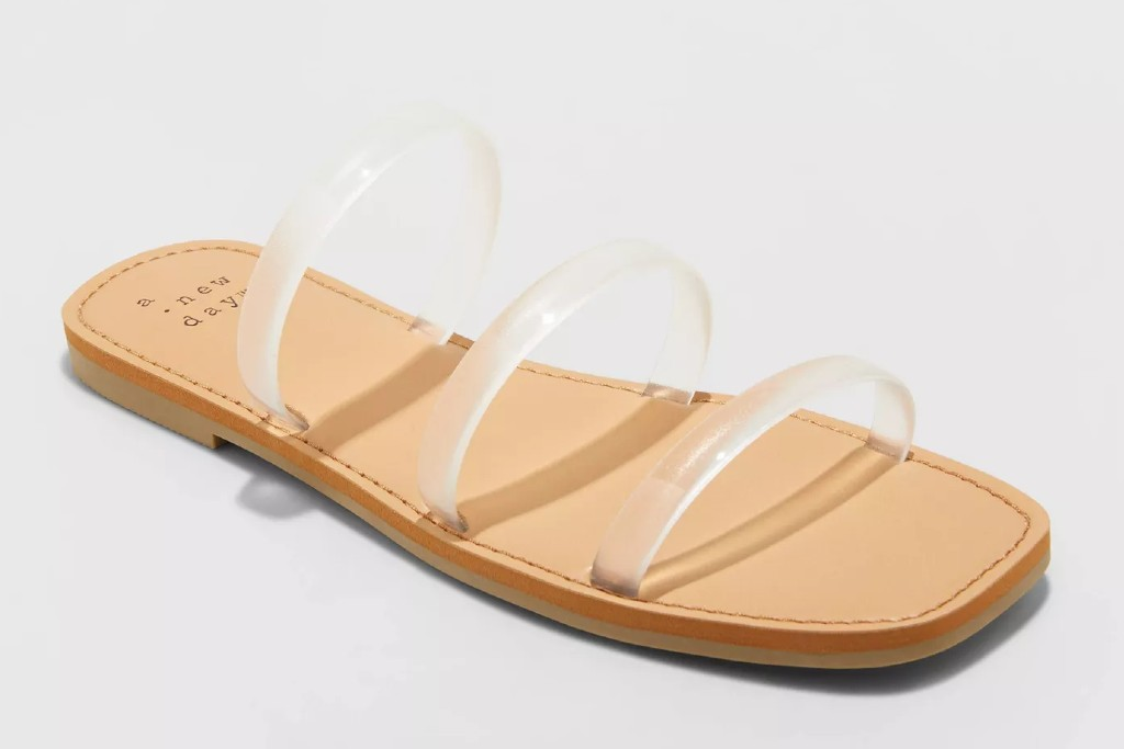 A New Day Wren Triple Strap Sandals, target shoes for women