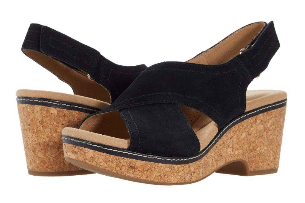 Clarks Giselle Cove sandal, women's zappos memorial day deals