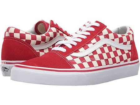 vans sneakers, checkered sneakers