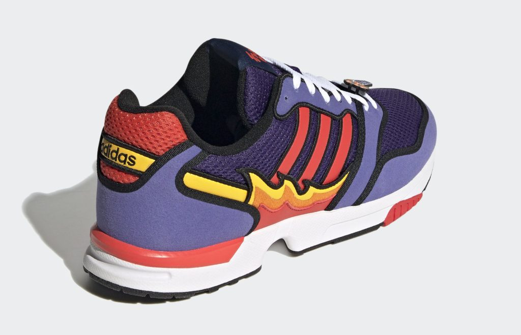 'The Simpsons' x Adidas ZX 1000 'Flaming Moe'