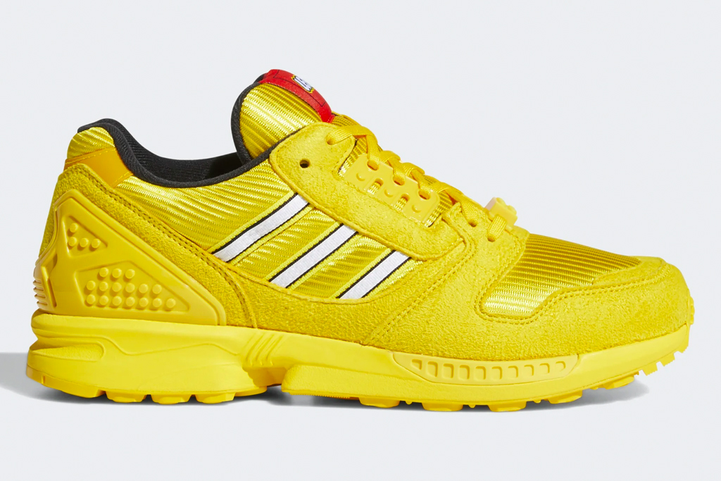 adidas, lego, bricks, zx 8000, sneakers, toys, adults, kids