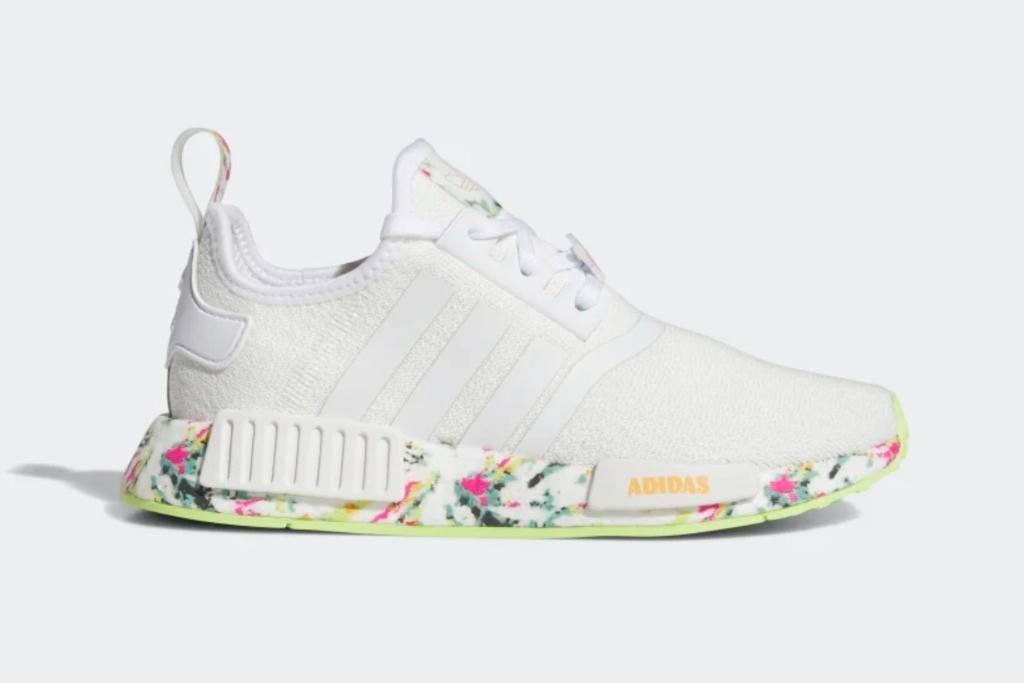 adidas nmdr1 kids shoes, tie dye sneakers