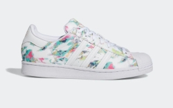 adidas, superstar, mens shoes, tie dye
