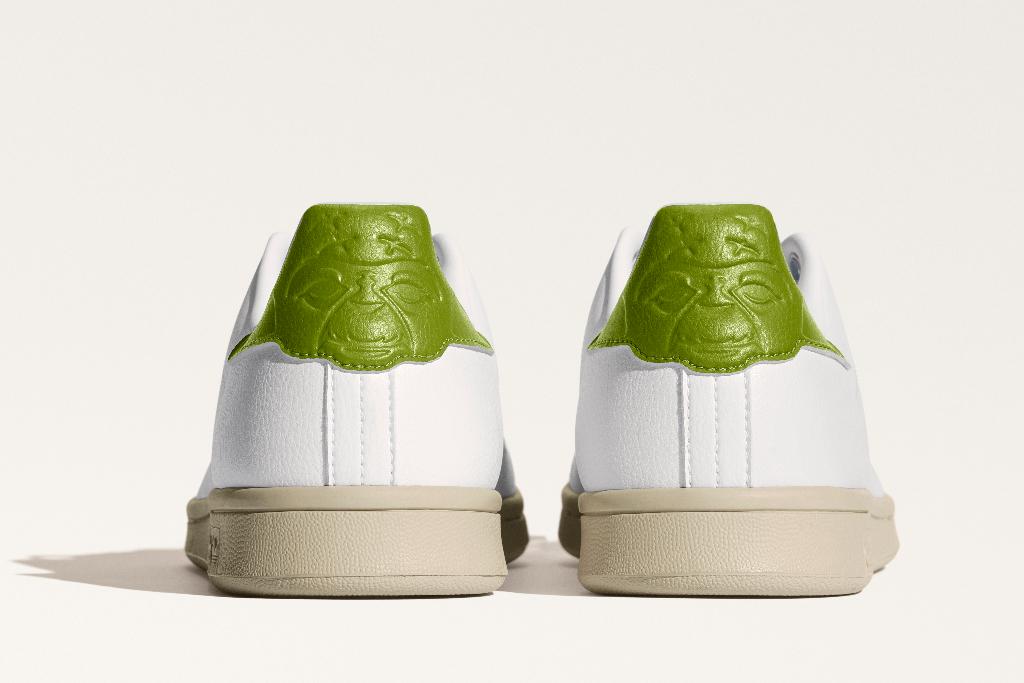 adidas, yoda stan smith, forever, white sneakers