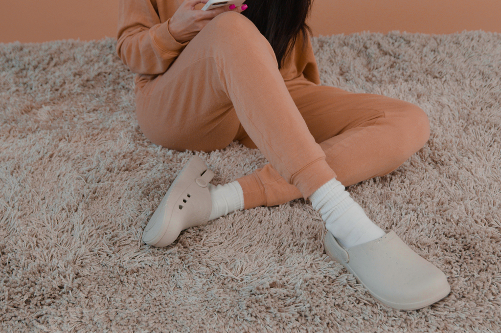 Ales Grey Rodeo Drive Sustainable Clog