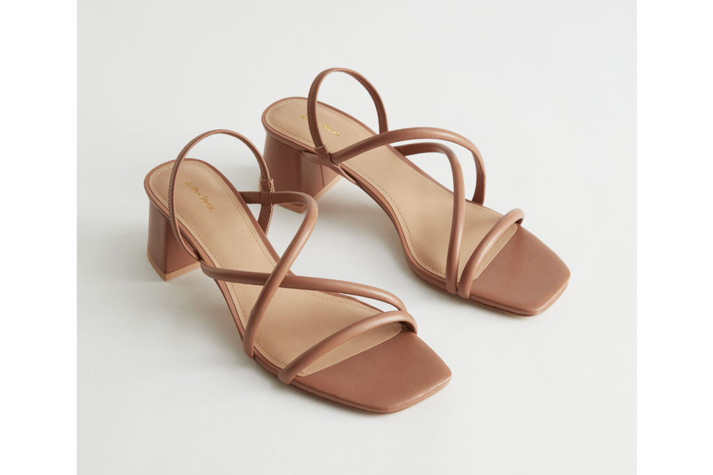 and other stories brown sandals, best office shoes
