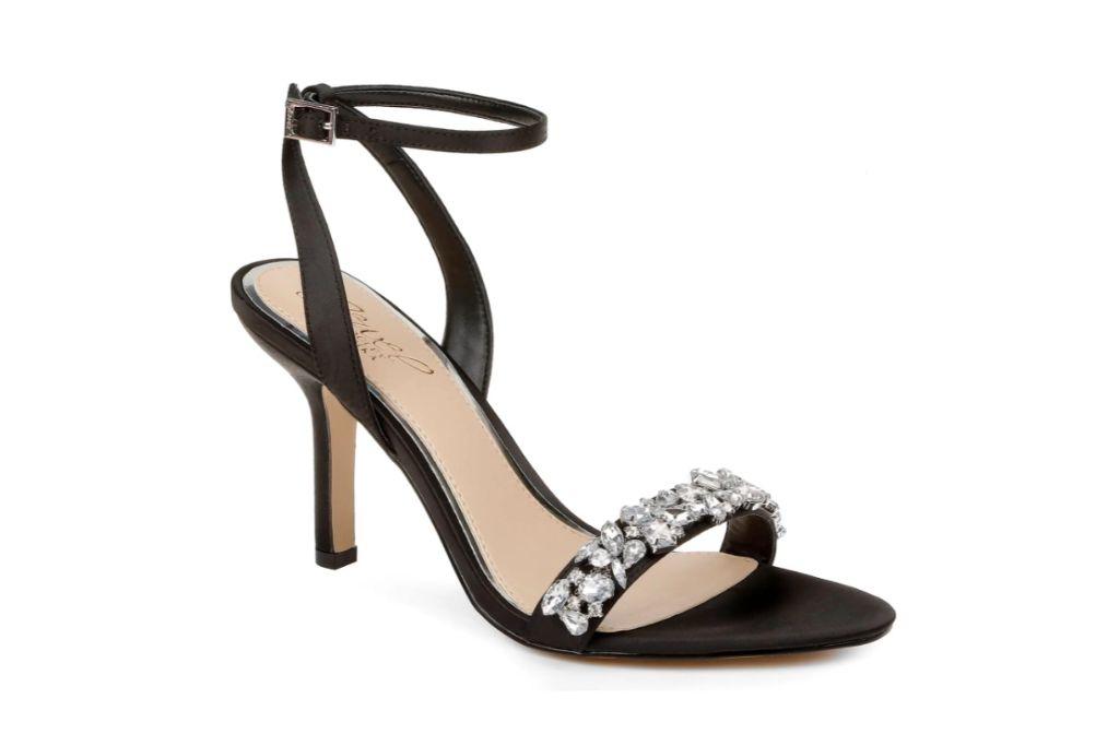 badgley mischka, jewel sandals