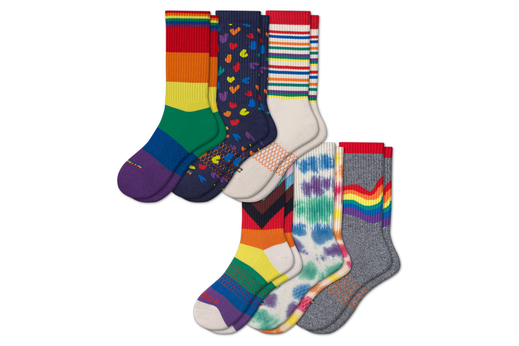 bombas, pride, socks, shirt, t-shirts, tote bag, collection, 2021