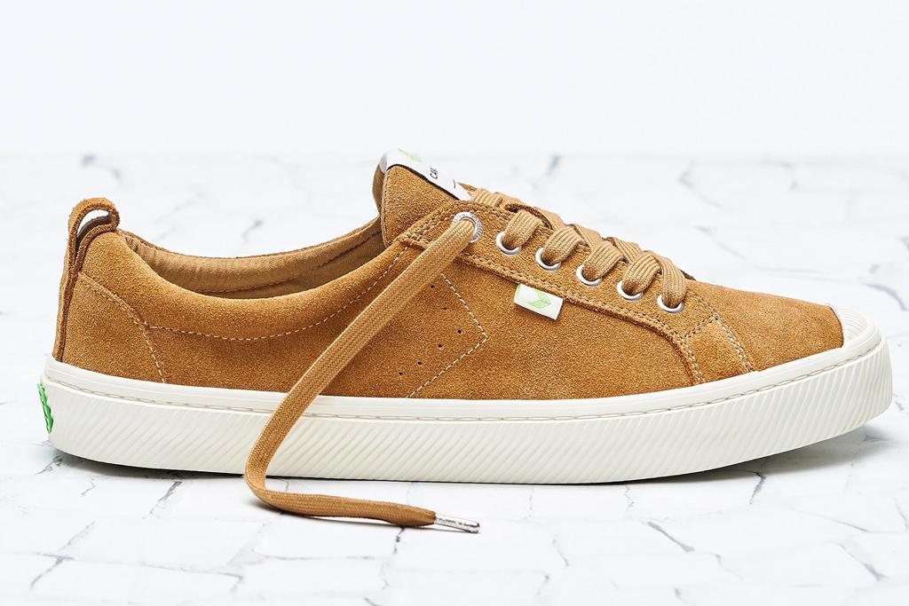 brown suede sneakers, womens, cariuma
