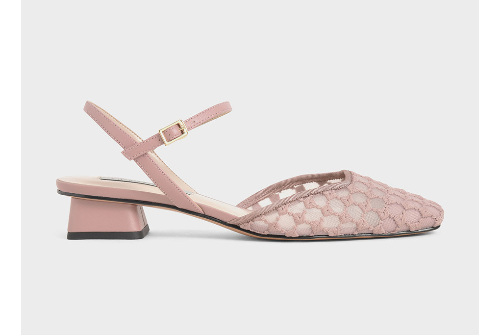 charles and keith lace slingback, best office shoes