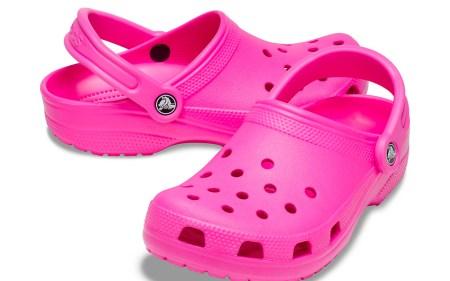 crocs, hot pink, nicki minaj