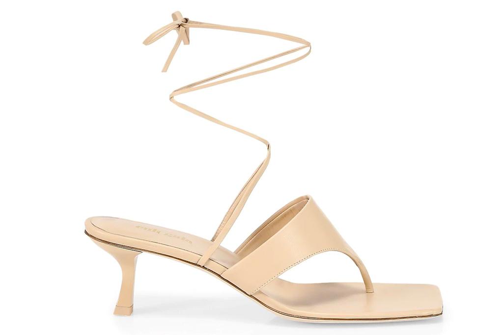 sandals, heels, ankle wrap, cult gaia