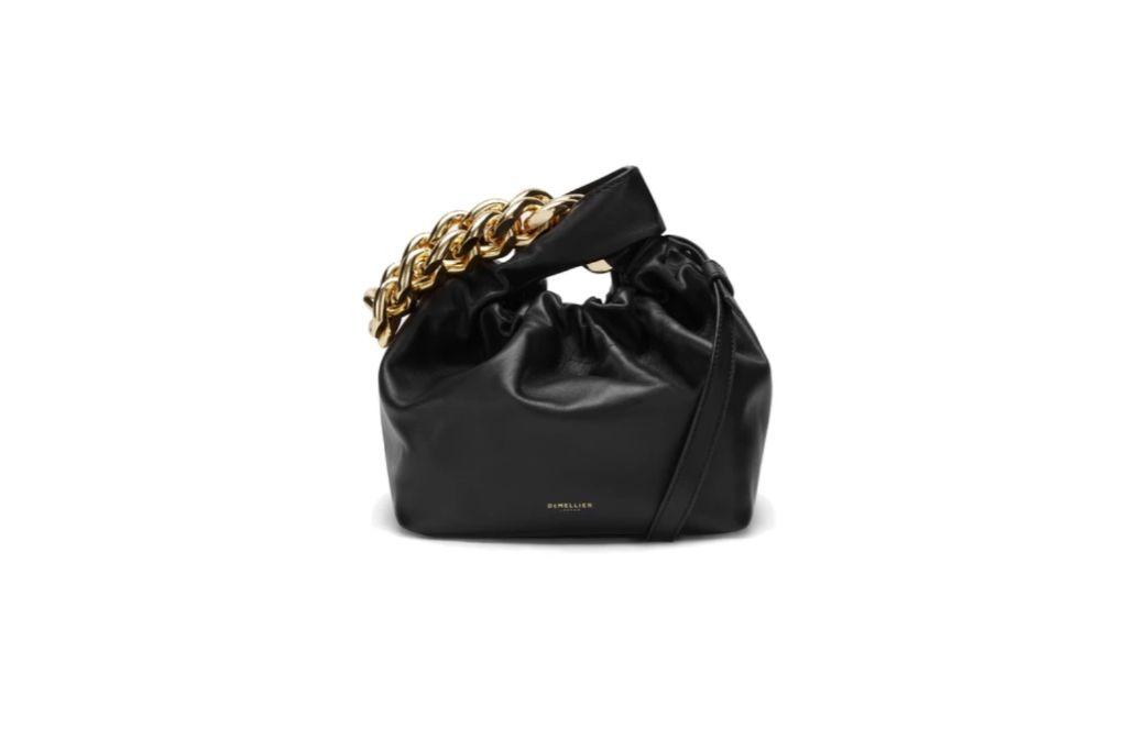 demellier, santa monica chain bag, chain purses