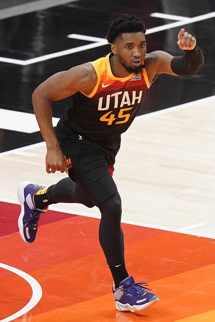 Utah Jazz Donovan Mitchell Adidas D.O.N. Issue #3