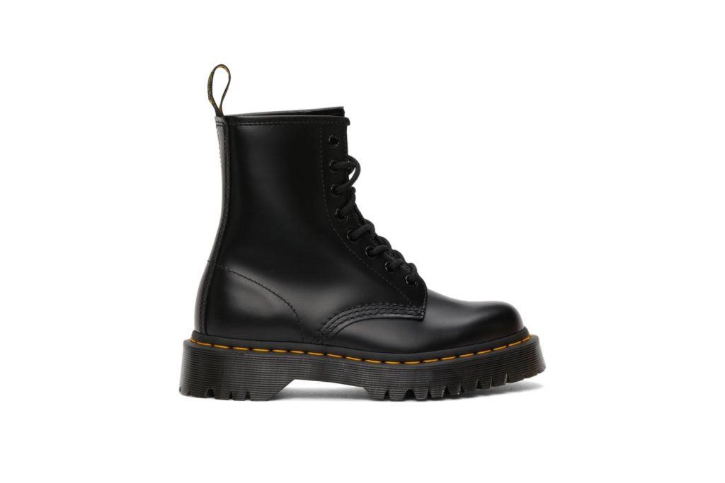 dr martens, bex boots, black combat boots