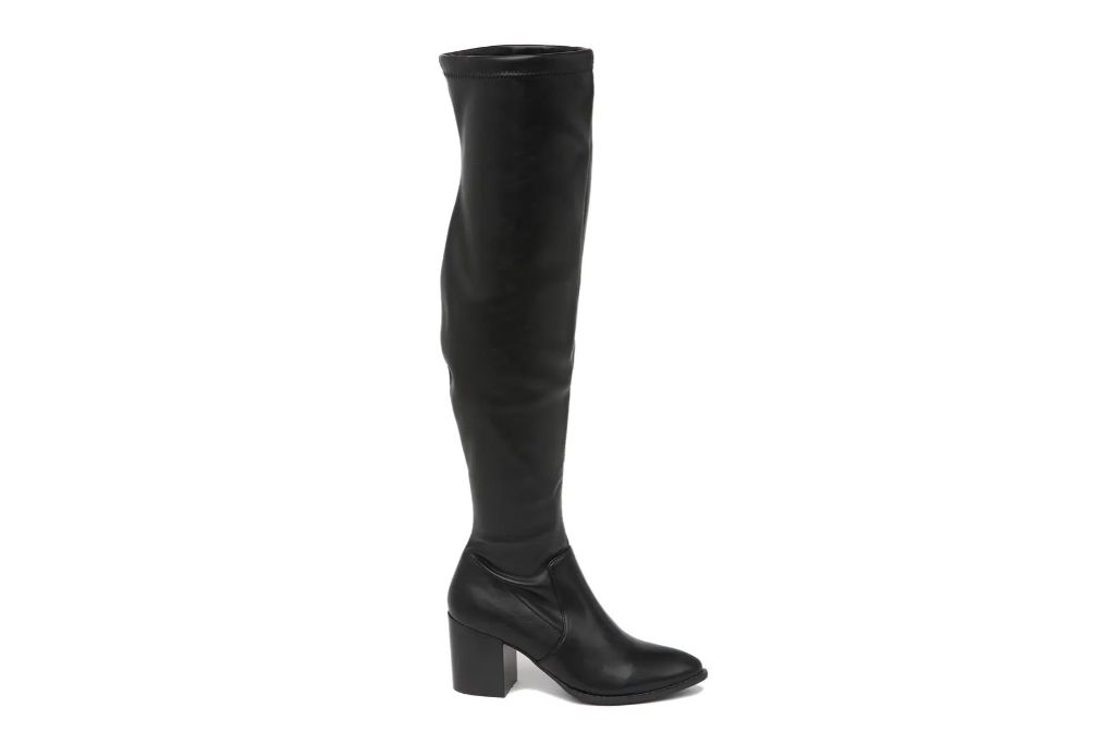 dv dolce vita, over the knee boots, black boots