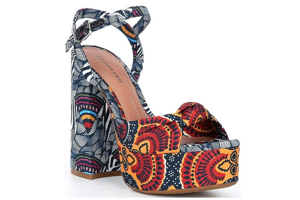 platform, wedge sandals, gianni bini