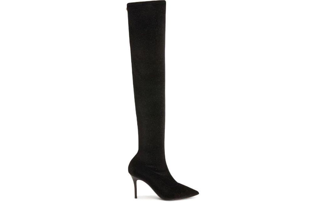 Giuseppe zanotti, felicity thigh high boots, black boots