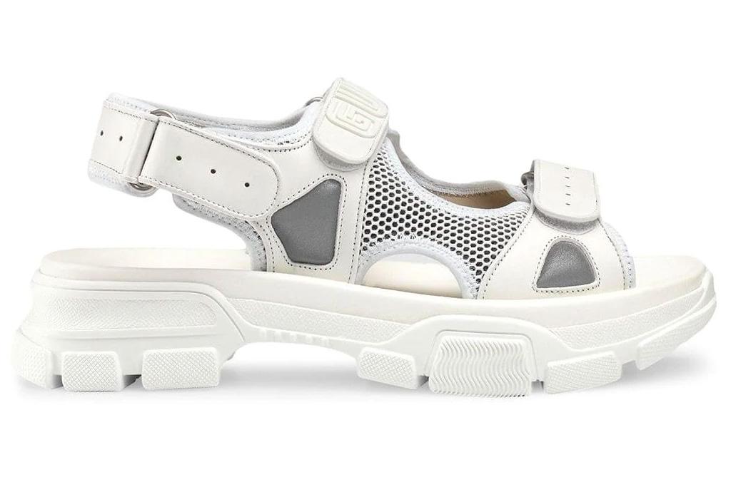 gucci, ugly sandals, mesh