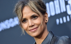 halle berry, bodysuit, boots, thigh-high