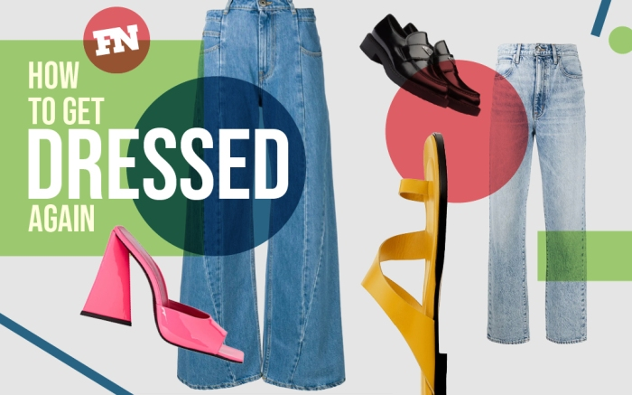 how to get dressed again, spring 2021 fashion trends, spring 2021, spring 2021 denim trends, how to wear skinny jeans 2021, skinny jeans, skinny jeans are out, baggy jeans, low rise jeans, aaliyah jeans