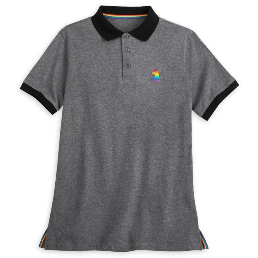 Mickey Mouse Polo Shirt for Adults, Rainbow Disney Collection