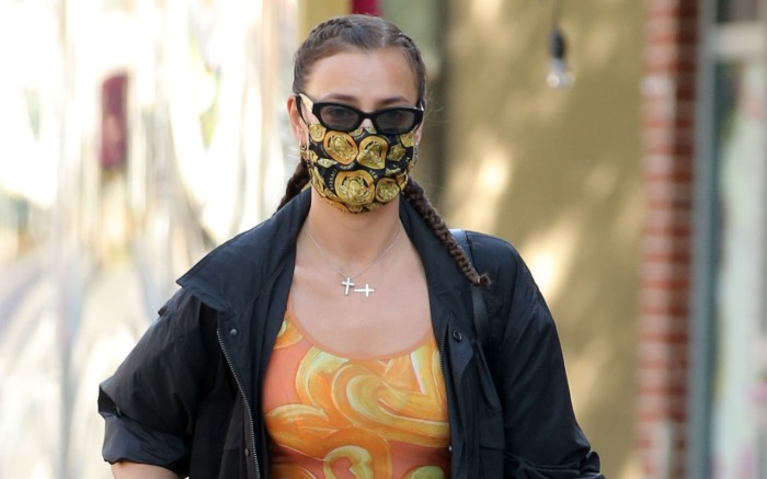 Model Irina Shayk And Lea Cooper Make A Stylish Pair In West Village In New York City
