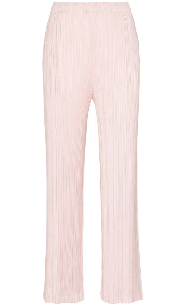 how to get dressed again, how to get dressed up, dressing up in 2021, spring 2021, spring 2021 fashion trends, spring 2021 fashion, post pandemic fashion, fashion trends, shoe trends, issey miyake, issey miyake pleats please, wide leg pants, fashion, shoes, trends, what to wear now