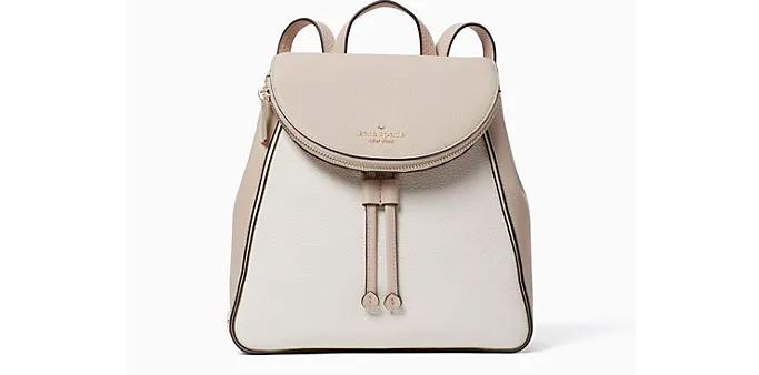 Kate Spade Leila Colorblock Medium Flap Backpack, kate spade surprise sale
