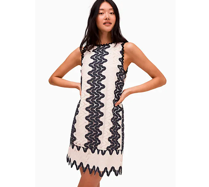 Kate Spade Sand Dune Lace Shift Dress, kate spade surprise sale