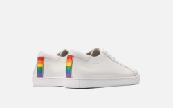 kenneth cole, kam pride sneakers, white