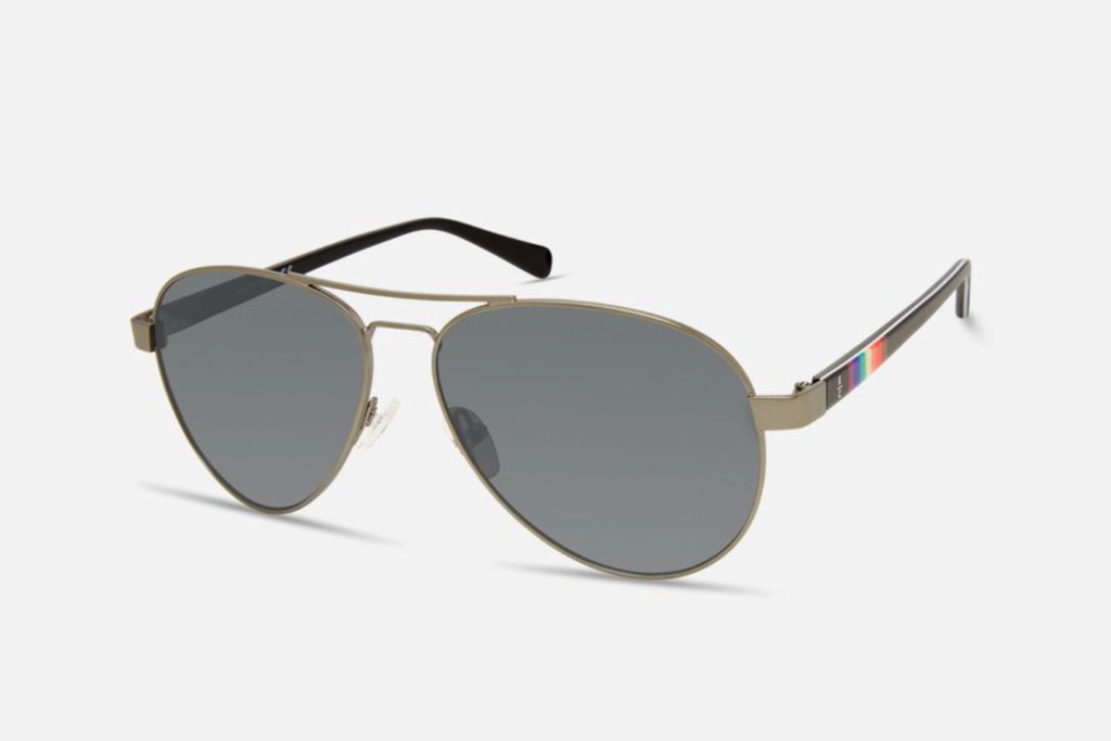 kenneth cole, pride aviator sunglasses, sunglasses