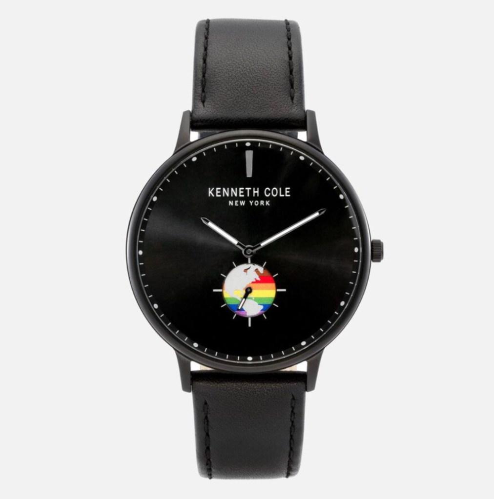 kenneth cole, worldpride rainbow unisex watch, watches