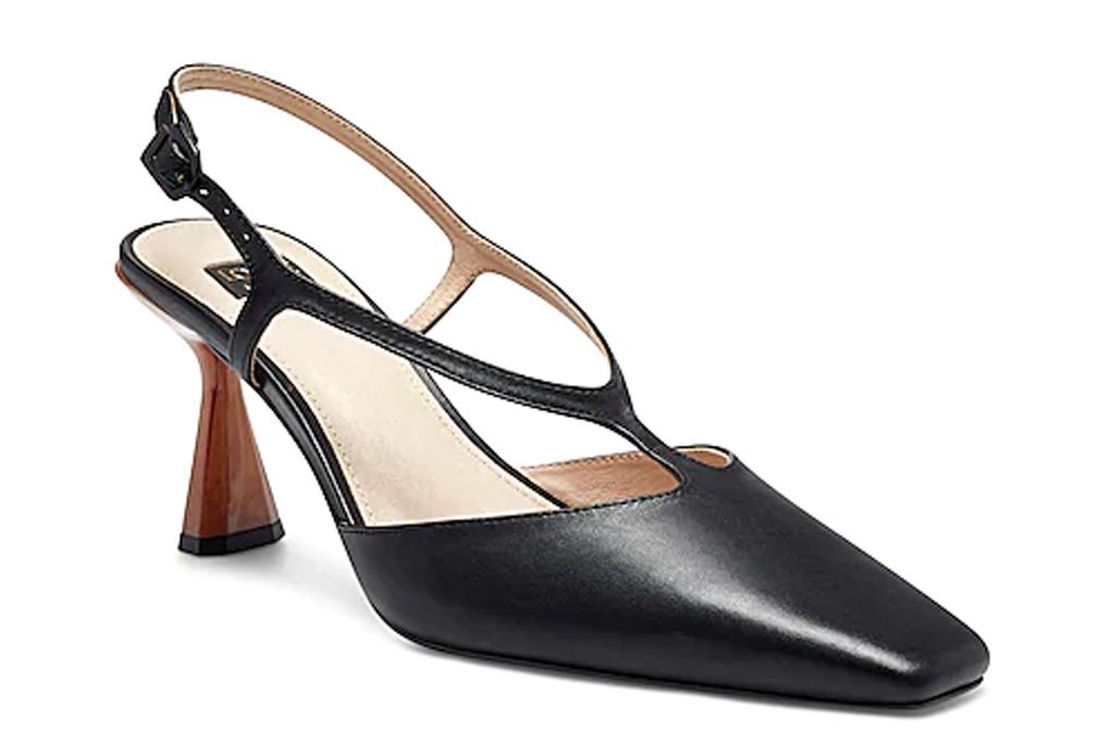 black heels, pumps, louise et cie