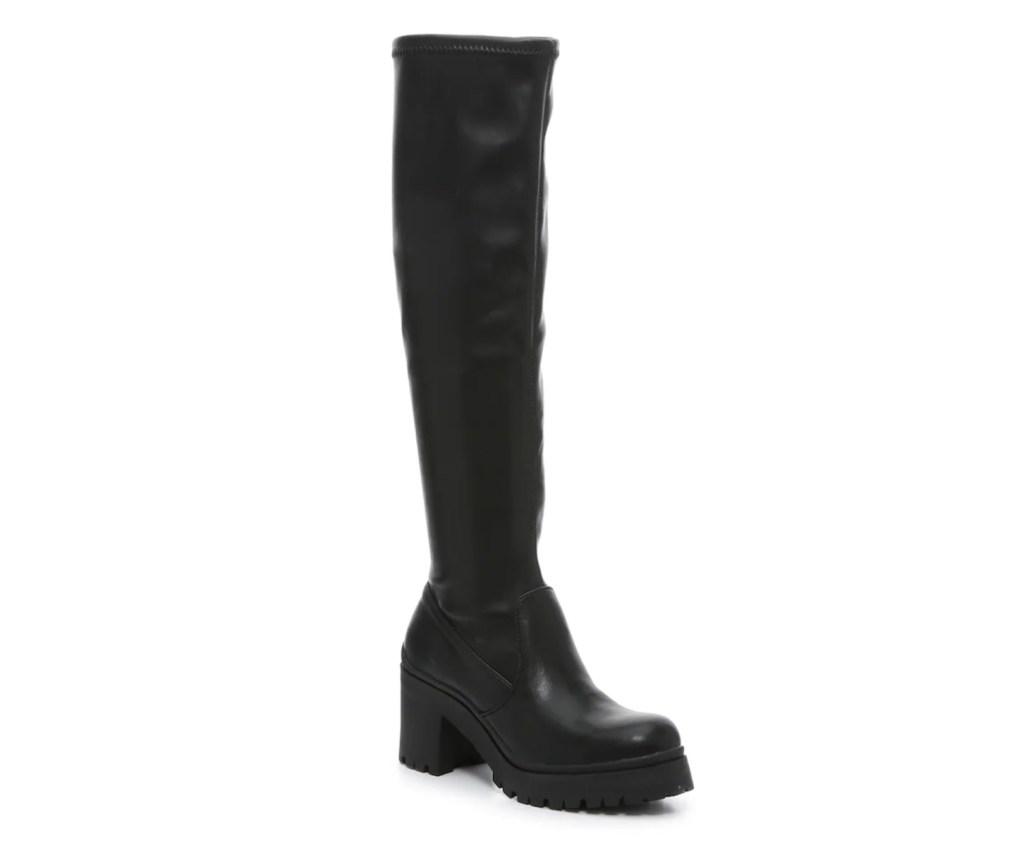 madden girl, corretta boot, black boots