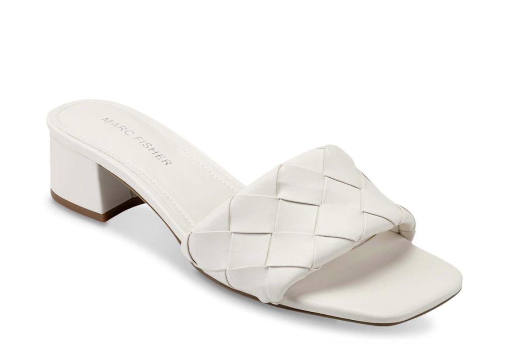 marc fisher, casara slide sandal, woven sandals
