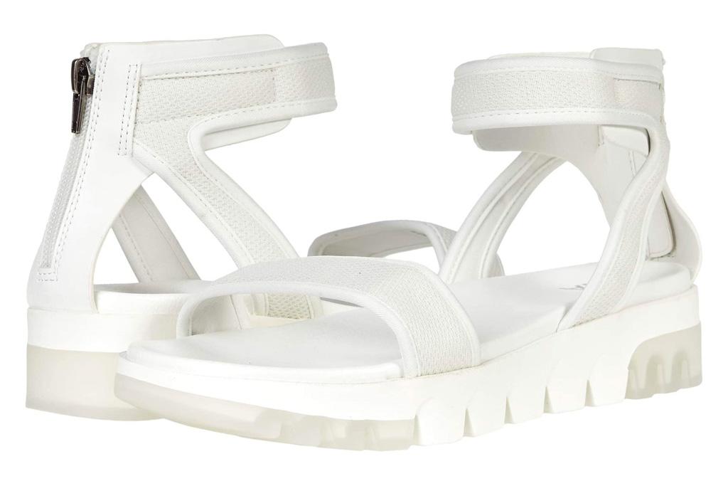 chunky sandals, white, mia