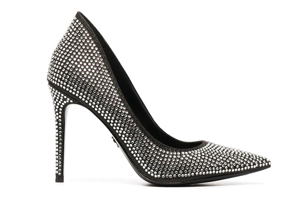 black heels, pumps, michael michael kors