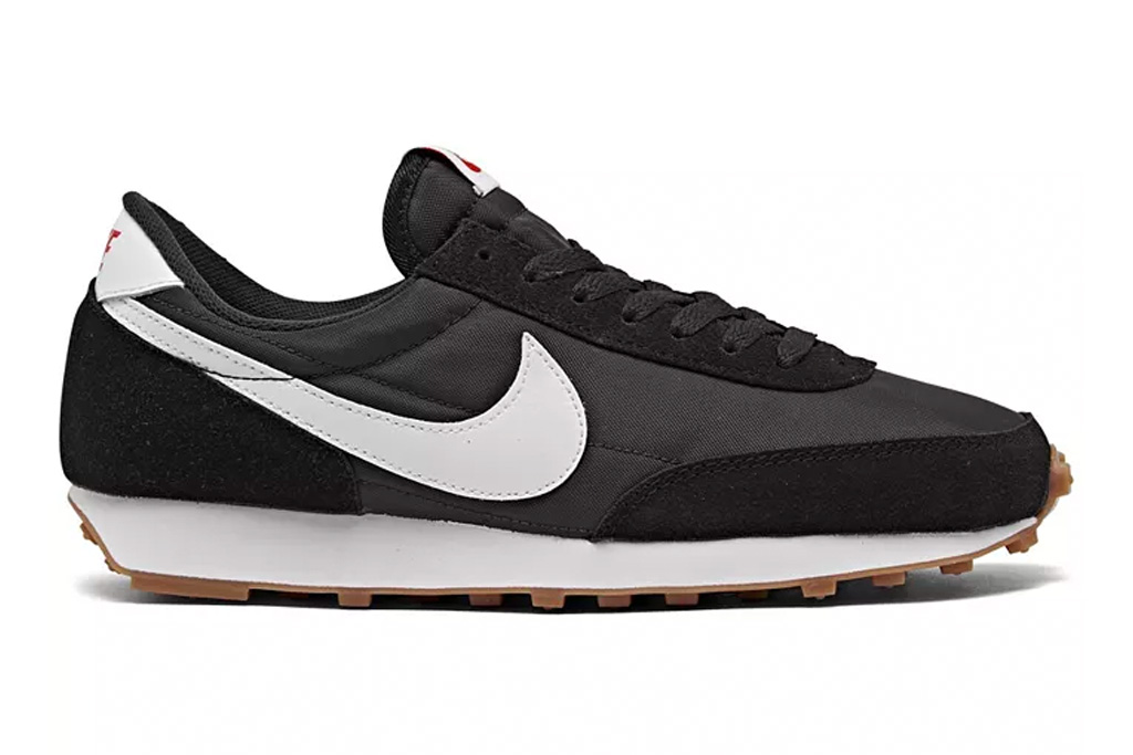 sneakers, black, white, nylon, nike