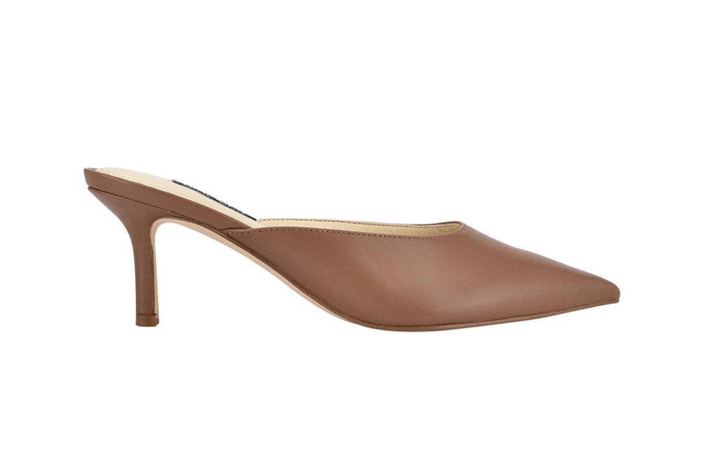 nine west ali pointy toe mules, best office shoes