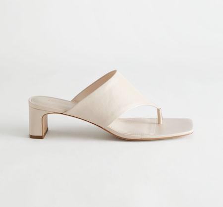 thong sandal, square toe sandal