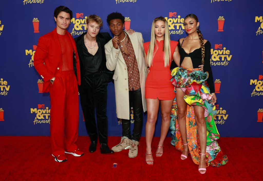 mtv movie, tv awards, red carpet, outer bankss