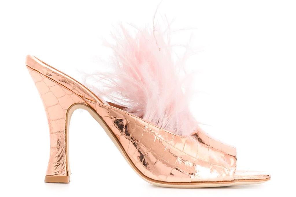 feather heels, paris texas