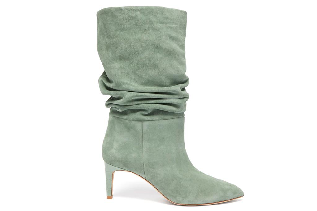 paris texas, boots, green, slouchy