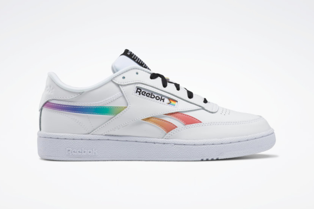 reebok, club c revenge pride shoes, pride collection 2021