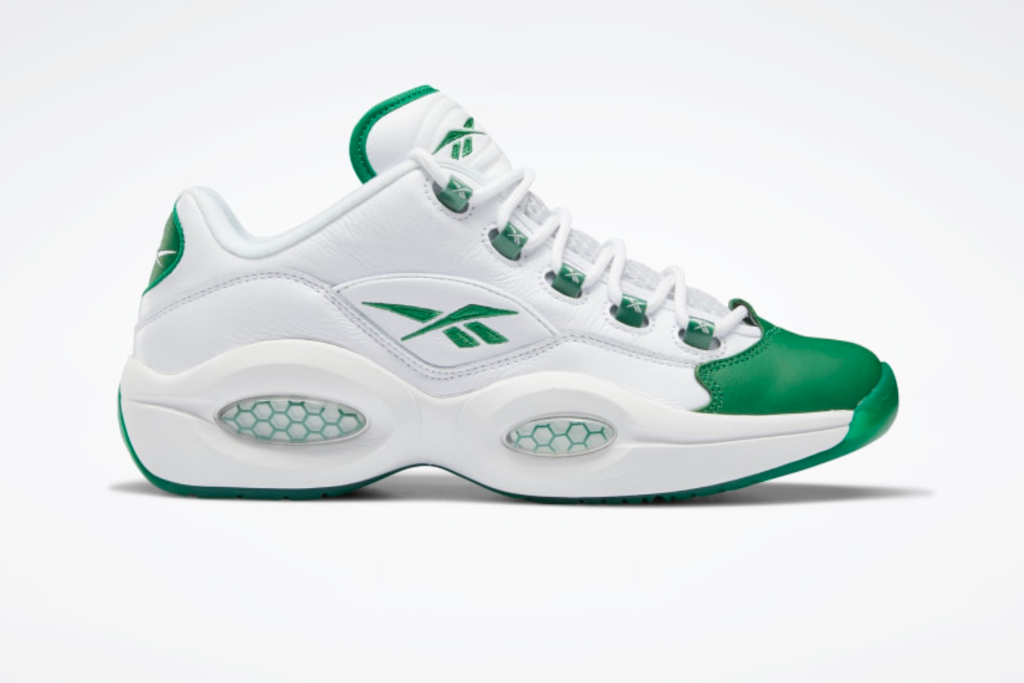 Reebok rsquo s Iconic Question Low Gets a  lsquo Green Toe rsquo  Iteration