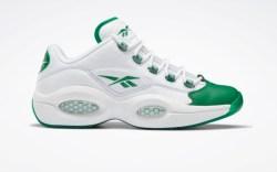 reebok, question low green toe, release